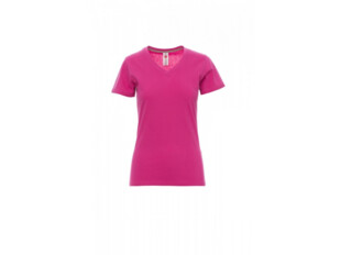 V-NECK LADY-fuchsie